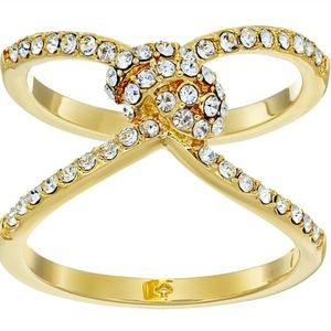Kate Spade gold  infinity and beyond  ring